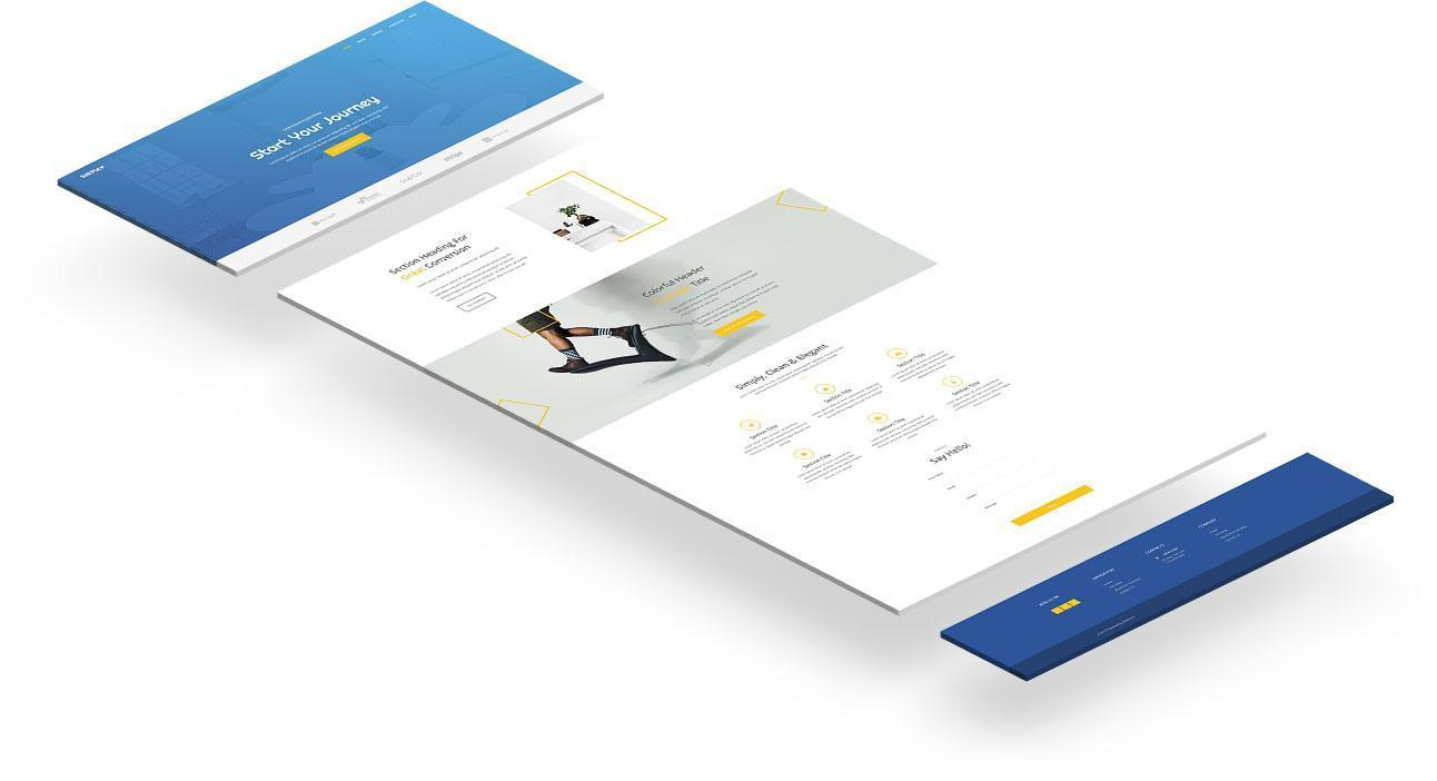 Simvoly Business Website Template