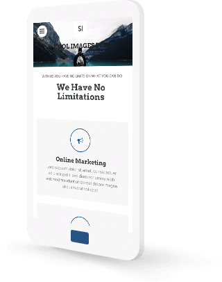 mobile personal website builder