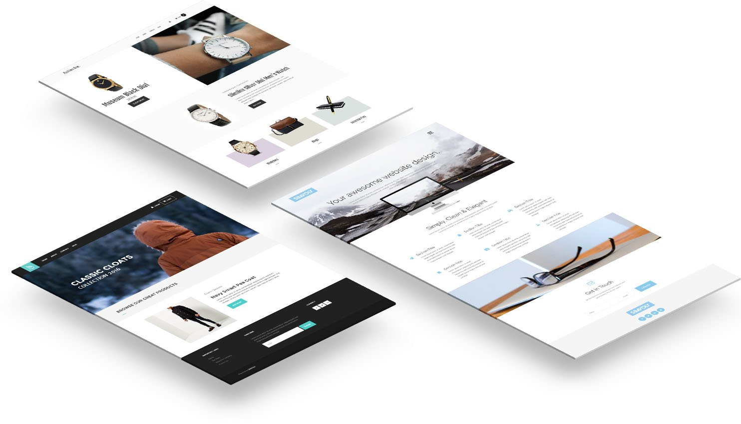 Beautiful themes for your website