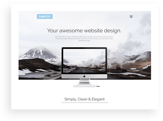 Simvoly - website templates