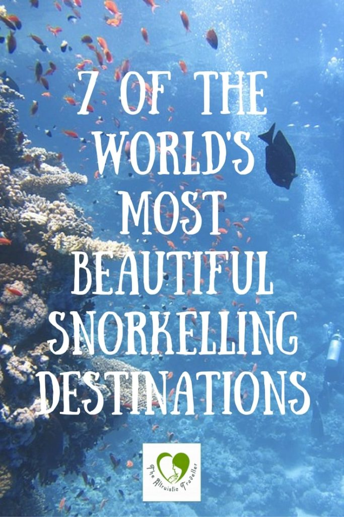 7 Of The World's Most Beautiful Snorkelling Destinations
