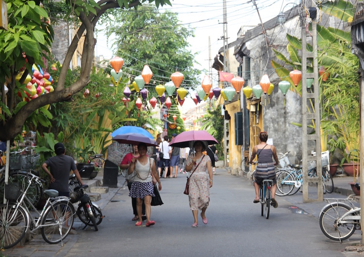 Hoi An on a bicycle