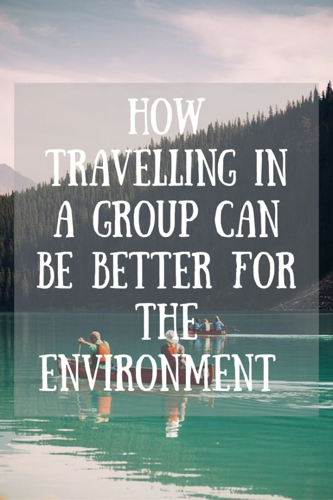 How Travelling in a group can be better for the environment