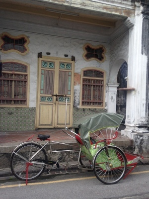 Colonial architecture and old Bacha in Georgetown