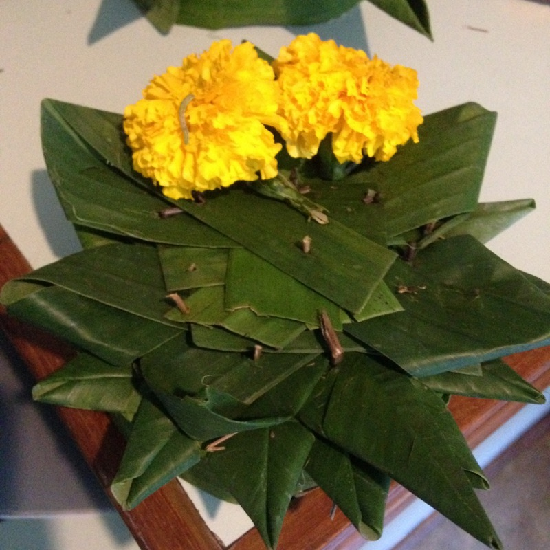 Krathong flowers