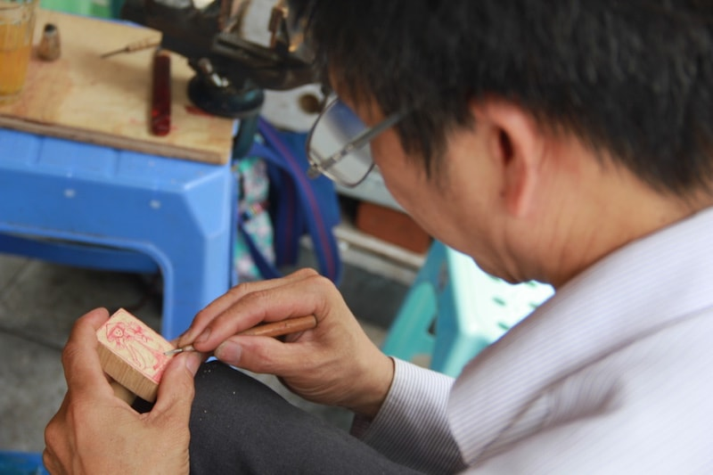Stamp Making In Hanoi