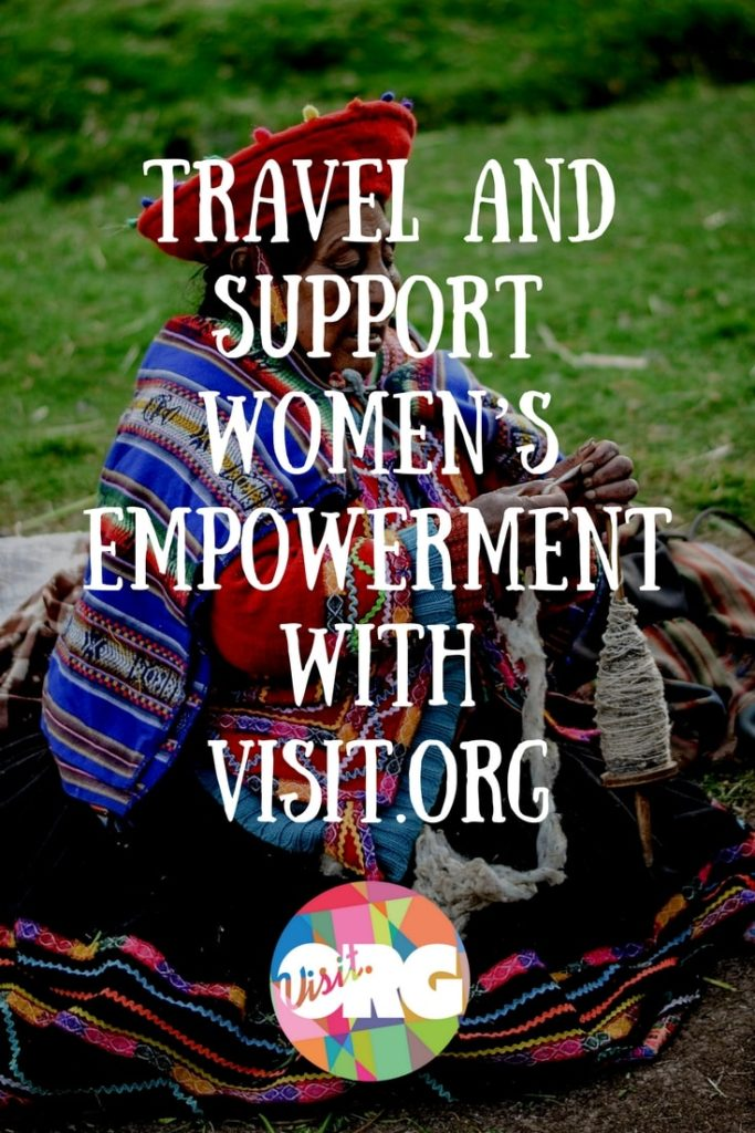 Travel and support women's empowerment with Visit.org