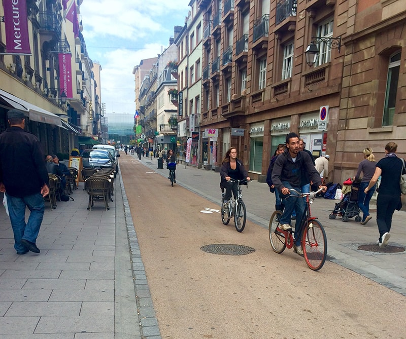 Strasbourg on a bicycle