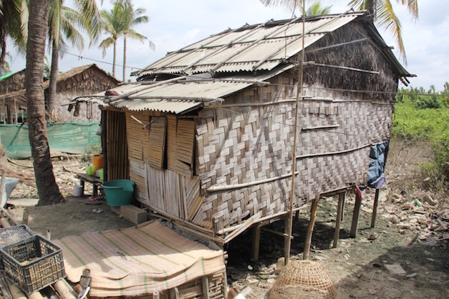 Not far from the bustling city of Yangon there is a small Indian village, their houses far from the concrete buildings and their livelihoods far from prosperous. It is a sad example of the wealth disparity that is happening in the country.