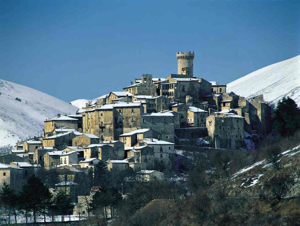A medieval village once in disrepair has been restored into one of the most unique experiences in Abruzzo, Italy.